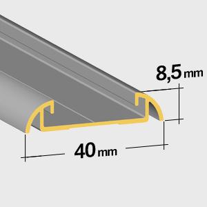Guida inferiore 8,5mm