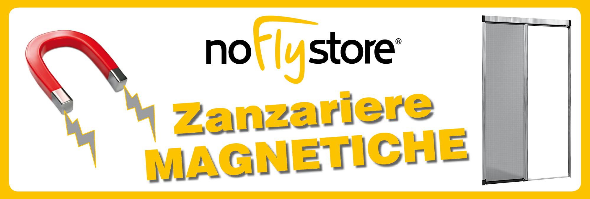 Le zanzariere a Calamita - NoFlyStore