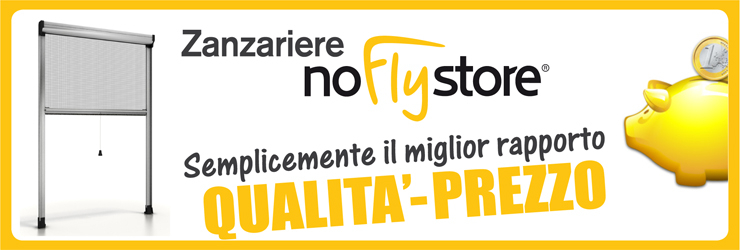 Le zanzariere Per Porte Finestre - NoFlyStore
