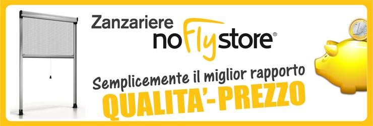 Le zanzariere a scomparsa - NoFlyStore